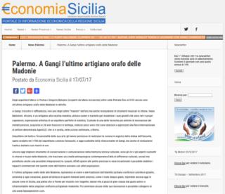 Fabio Ballistreri orafo su Economia Sicilia