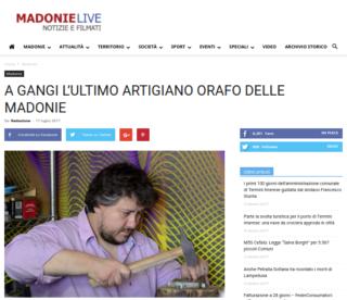 Fabio Ballistreri orafo su Madonie Live