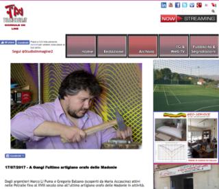 Fabio Ballistreri orafo su Tele Nicosia